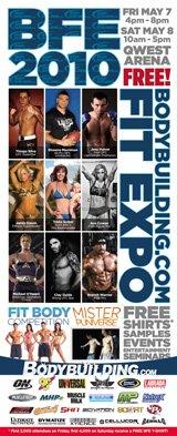 2010 Bodybuilding.com Fitness Expo.
