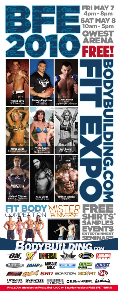 2010 Bodybuilding.com Fitness Expo