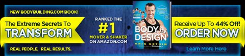 Pre-Order Body By Design!