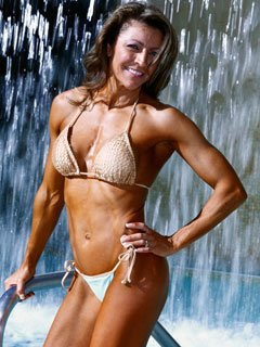 Competition Is One Of The Things That Motivates Kathy To Stay In Shape.