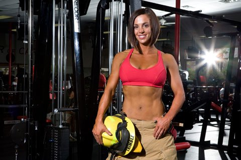 Besides Being A Successful Figure Competitor Nola Is A Federal Firefighter, EMT, And HazMat Specialist.