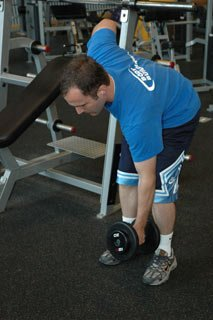 Alternating Bent Over Rows