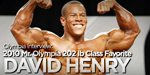 Olympia Interview: 2010 Mr. Olympia 202 Lb Class Favorite David Henry!