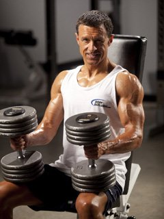 All I Needed Were 2 Sets Of Dumbbells With Varying Weights.