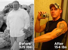 Dustin Cates Shed Over 170 Pounds!
