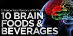 Enhance Your Memory With These 10 Brain Foods & Beverages!