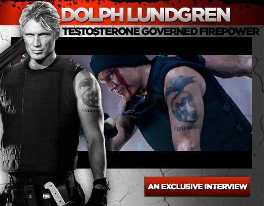 Dolph Lundgren Workout