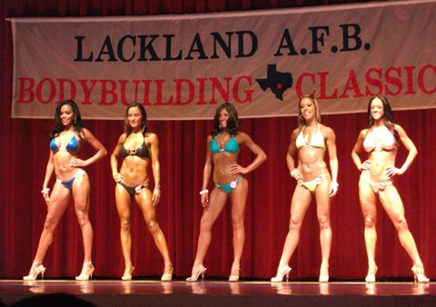 Twelve Weeks Later I Stepped On Stage For The Lackland Bodybuilding Classic And Took Home The 5th Place Trophy Out Of 19 Girls