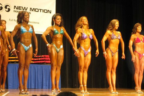 I Competed In My First Figure Competition This Year And I'm Currently Prepping For A Half Marathon