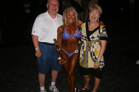 Tracy Pruitt With Her Parents