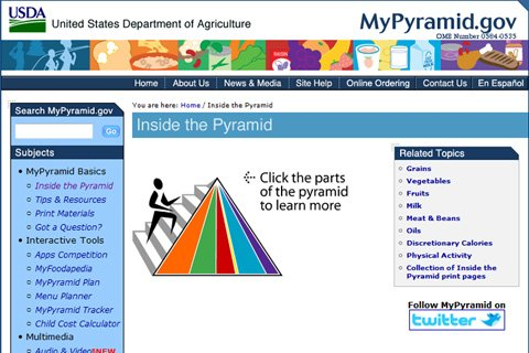 The Goal Of MyPyramid Isn't Maximum Health But Instead Teaching The Masses What They Should Eat On A Daily Basis