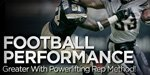 Football Performance Greater With Powerlifting Rep Method!