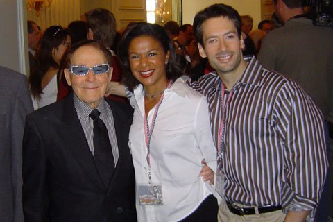 The Author (Right) With Michelle Tolson And Jack LaLanne, Celebrating His 90th Birthday.