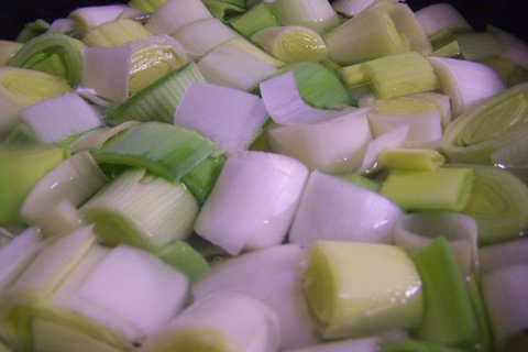 An Entire Leek Is A Very Good Source Of Folic Acid