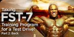 Taking FST-7 Training Program For A Test Drive - Part  2: Back.