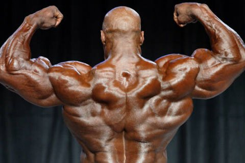 As Soon As Ronnie Did The Rear Lat Spread Or Back Double Biceps Pose, Everyone Else was Fighting For Second Place.