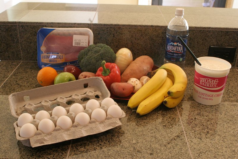 Image of eggs and fruit