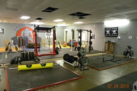 The Iron Beast Barbell Owners Spent Over A Year Collecting And Building All The Equipment They'd Need For Their Gym.