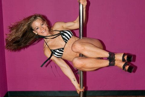 Tracy Holds An IFBB Pro Card In Fitness And Is A Talented Pole Dancer And Instructor.