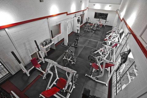 We Ensured We Had A Clean And Clutter Free Environment For People To Work Out In.