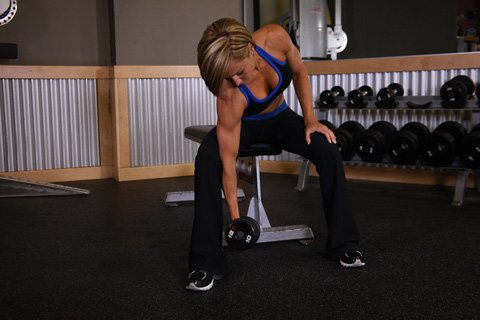 For The Dumbbell Movements You Don't Need Any Training Partners. You Just Need Good Clear Access To The Dumbbell Rack.