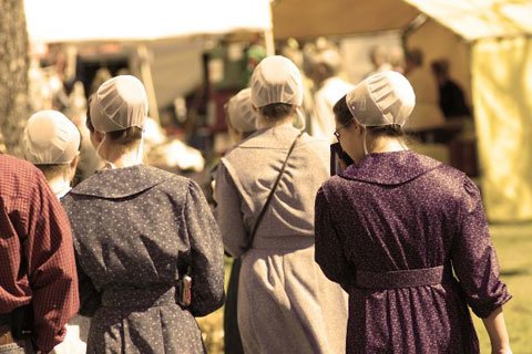 A Study Done In 2005 Showed That Amish Had The Same Frequency Of Type II Diabetes And Were Just As Obese As The General US Population.