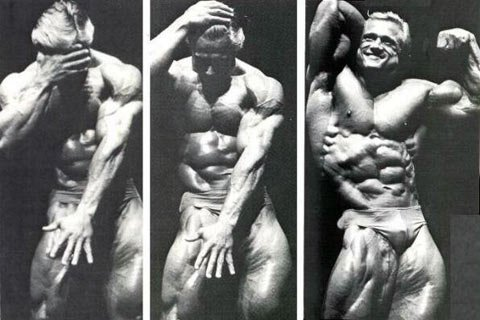 Tom Platz Was Able To Remain Very Limber While Having Legs Like Tree Trunks.