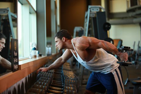 Training The Triceps Recquires Bending The Arm Further Than What Feels Natural.
