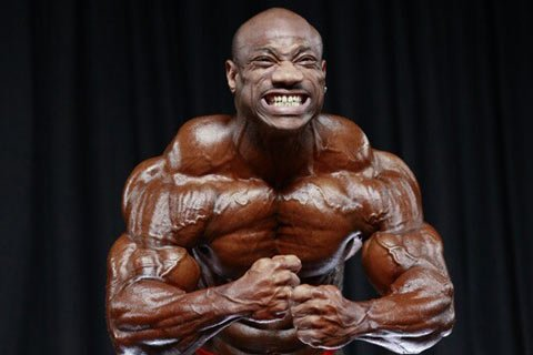 The Difference Between You And A Real Bodybuilder Is Huge, Monstrous Traps.