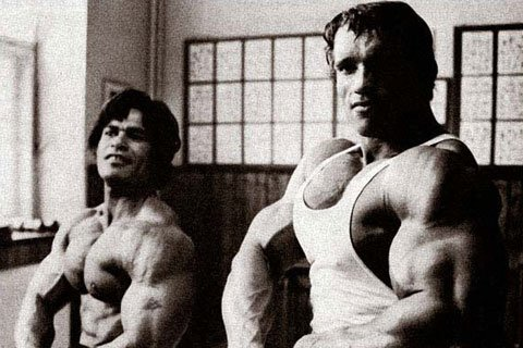 Arnold Himself Lifted Only 60 Pound Dumbbell In The Flye.