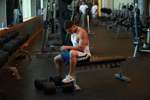 You Have To Drag Your Ass To The Gym So You Train Every Muscle Every Week.