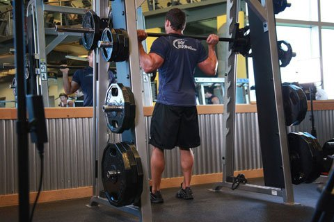 Heavy Weight In The Smith Rack Is A Great Way To Injure You Lower Back.