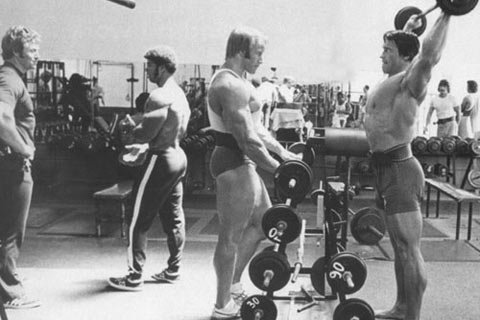 In Arnold's Day The Pump Was The Most Important Sensation.