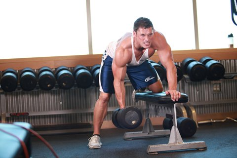 Early In The Week You Destroy The Muscle Completely, And Follow It Later in The Week With A Light Workout.