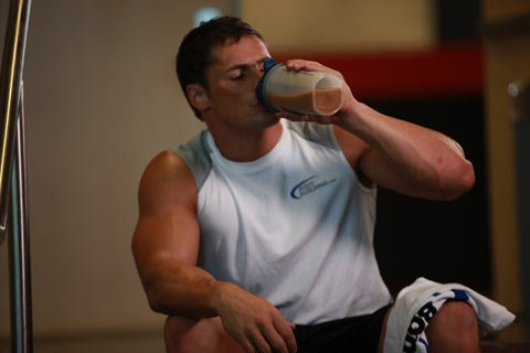 A Post-Exercise Drink Also Prevents Dehydration, A Phenomenon That May Be Catabolic.