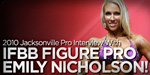 2010 Jacksonville Pro Interview With IFBB Figure Pro Emily Nicholson!