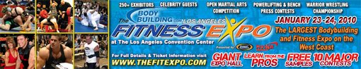 The 2010 Los Angeles Fitness Expo!
