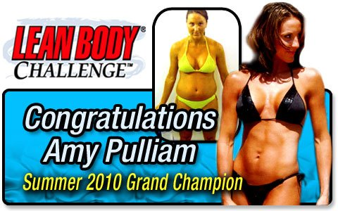 Grand Prize Winner, Amy Pulliam!