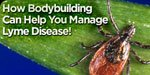 Bodybuilding Can Help You Manage Lyme Disease!