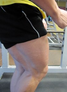 Marc Lobliner On Leg Day Workout.