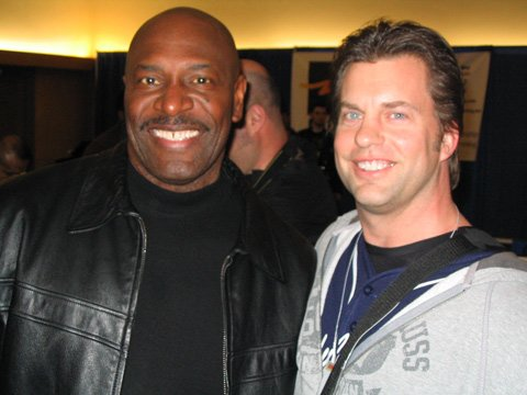Myron Mielke And Lee Haney.