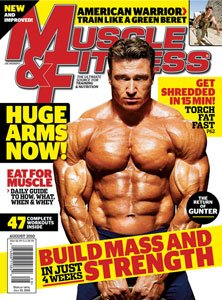 Muscle & Fitness August 2010