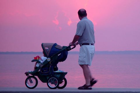 One Of The Contestants Talked About Jogging Around His Area With His Baby In A Jog-Stroller Every Day As His Workout.