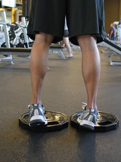 If You Turn The Toes In You Train The Outside Of Your Calves