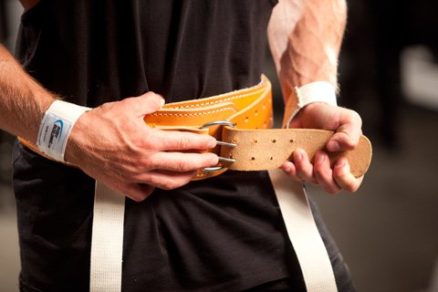 If A Belt Is To Be Worn, It Should Be Worn Low, Around The Hips And Lower Abs, As Tight As It Can Be Adjusted