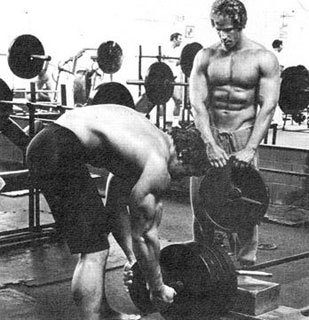 In The 70s Ric And Arnold Would Occasionally Train Twice In One Day.