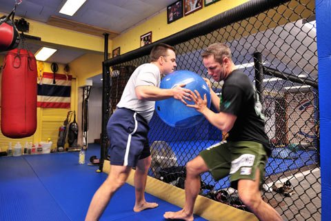 Kevin Uses A Lot Of MMA Conditioning Methods For Mainstream Amaerica.