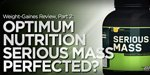 Optimum Serious Mass Review: Weight Gainer For Muscle Building!