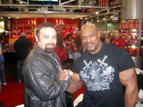Roger Lockridge And Ronnie Coleman.
