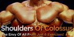 Shoulders Of Colossus - The Envy Of All From Just 6 Exercises!